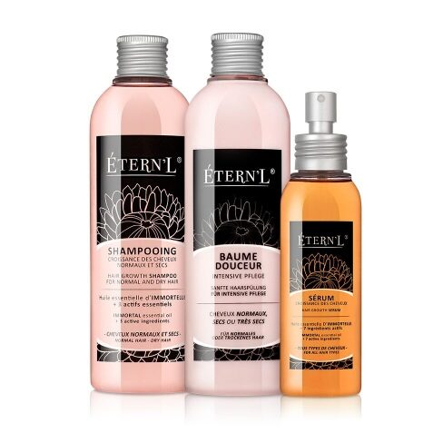 Etern'l shampoo, conditioner en serum